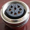 AISG电连接器,圆形防水印制线路板式 8
