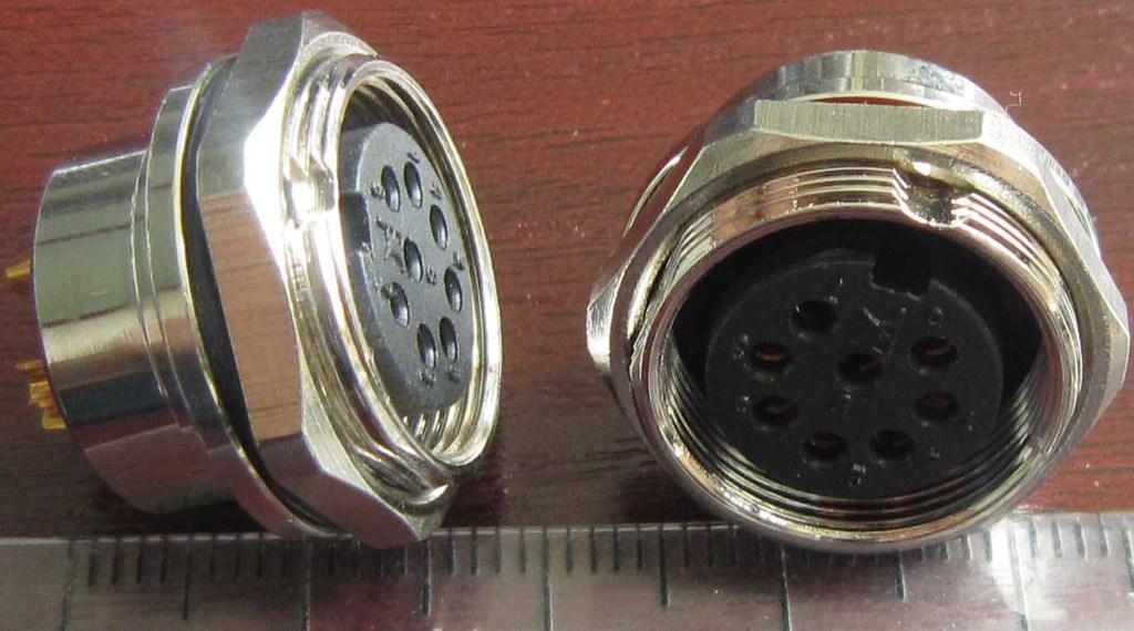 AISG电连接器,圆形防水印制线路板式 9
