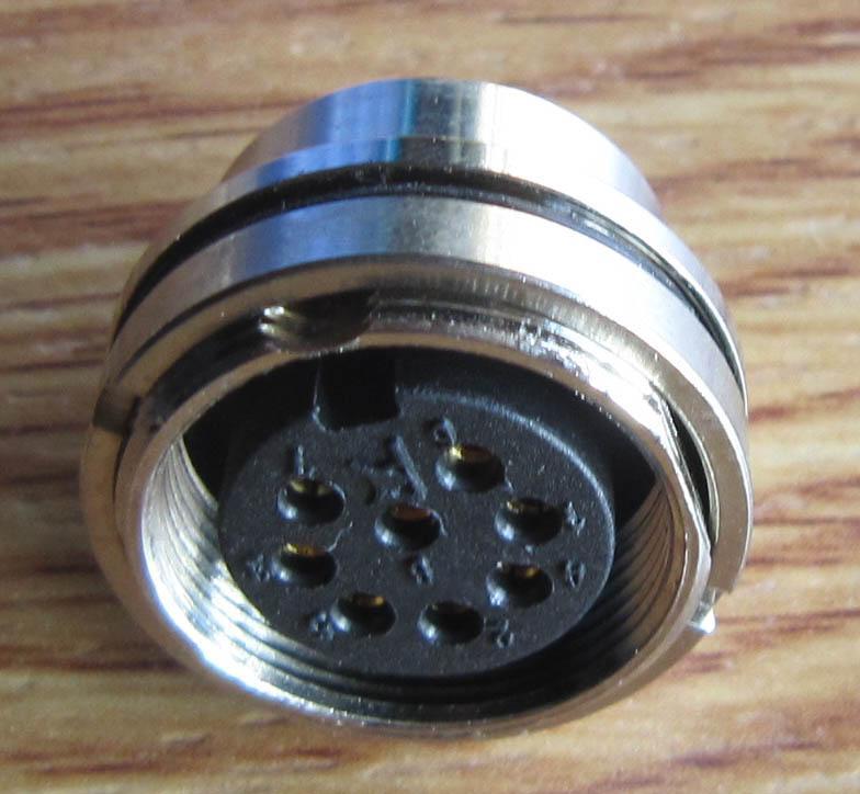 AISG电连接器,圆形防水印制线路板式 10