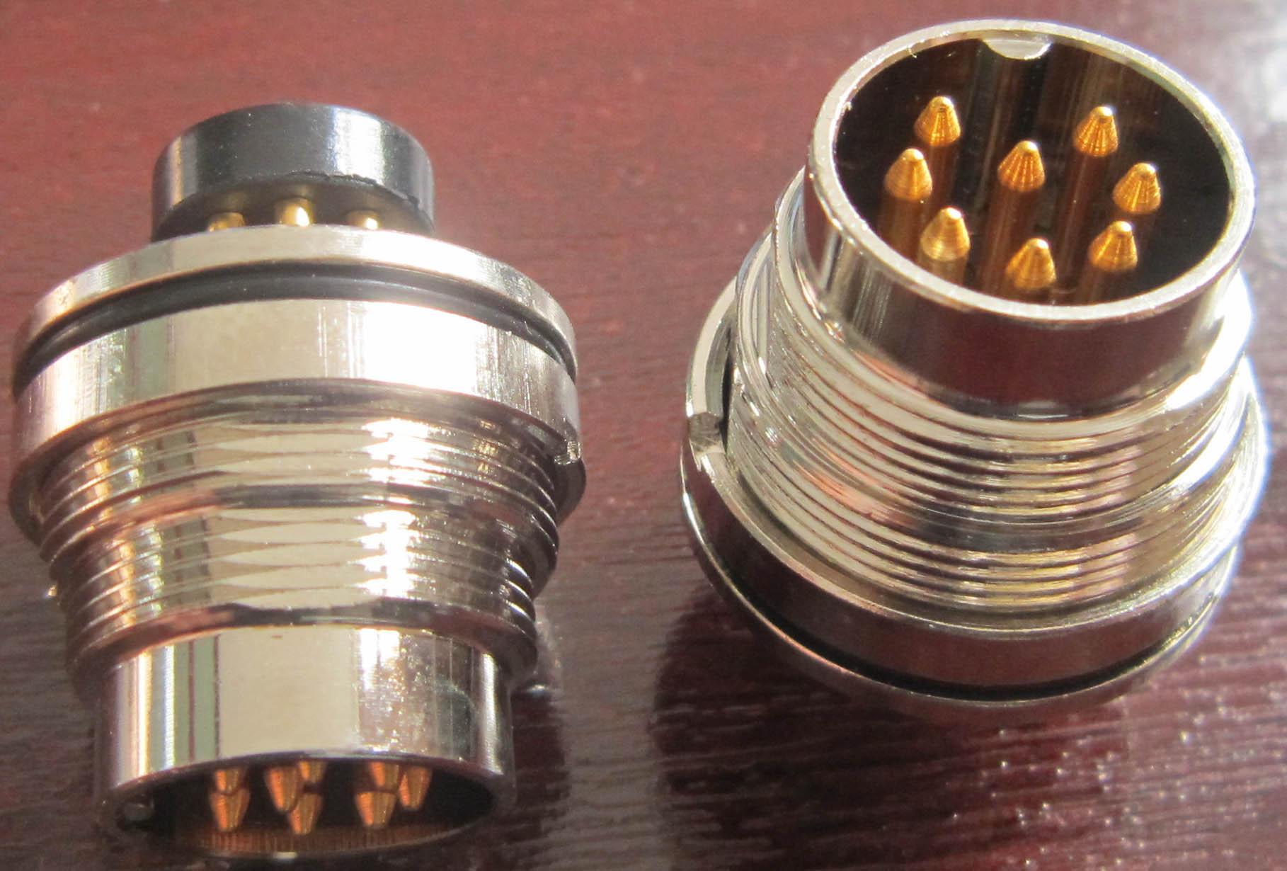 AISG电连接器,圆形防水印制线路板式 11