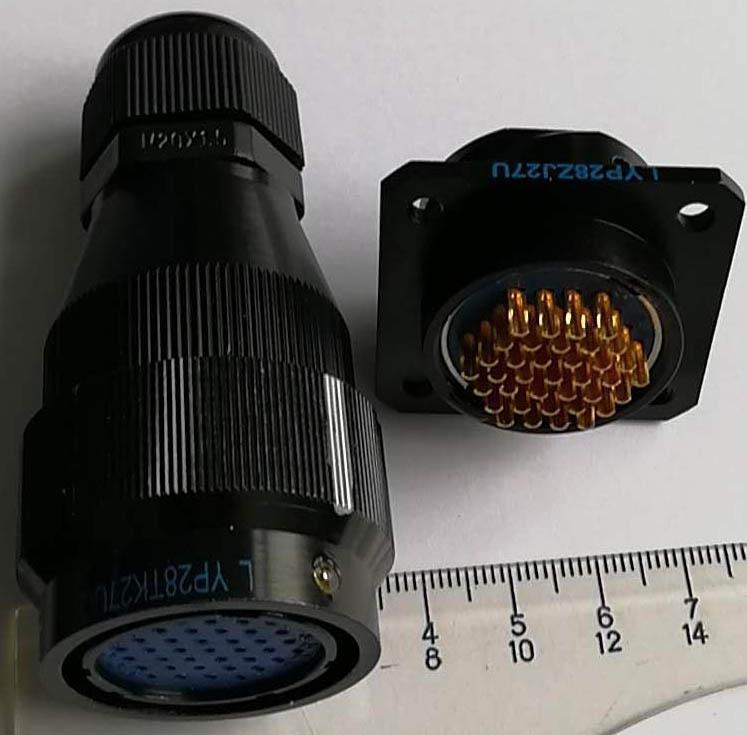 LYP28系列防水圆形电连接器,航空插头座 6