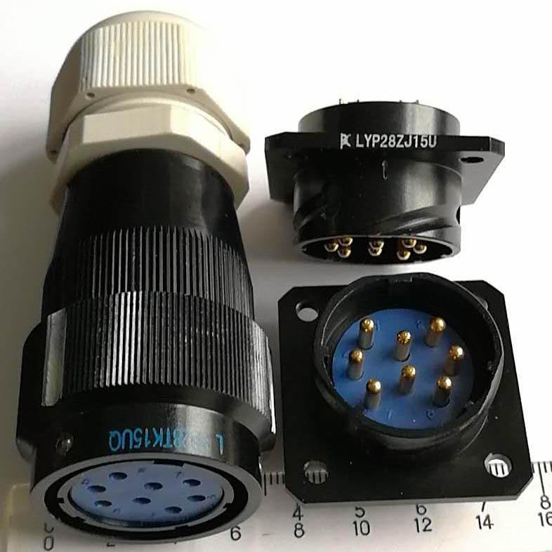 LYP28系列防水圆形电连接器,航空插头座 8