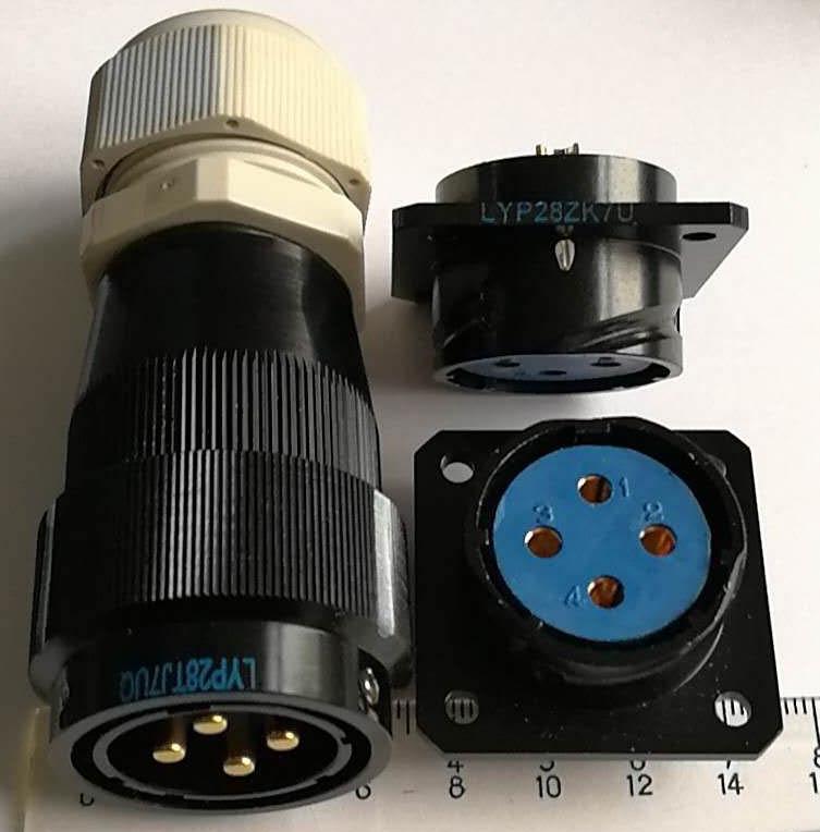 LYP28系列防水圆形电连接器,航空插头座 9