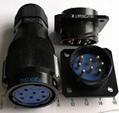 LYP28系列防水圆形电连接器,航空插头座 11