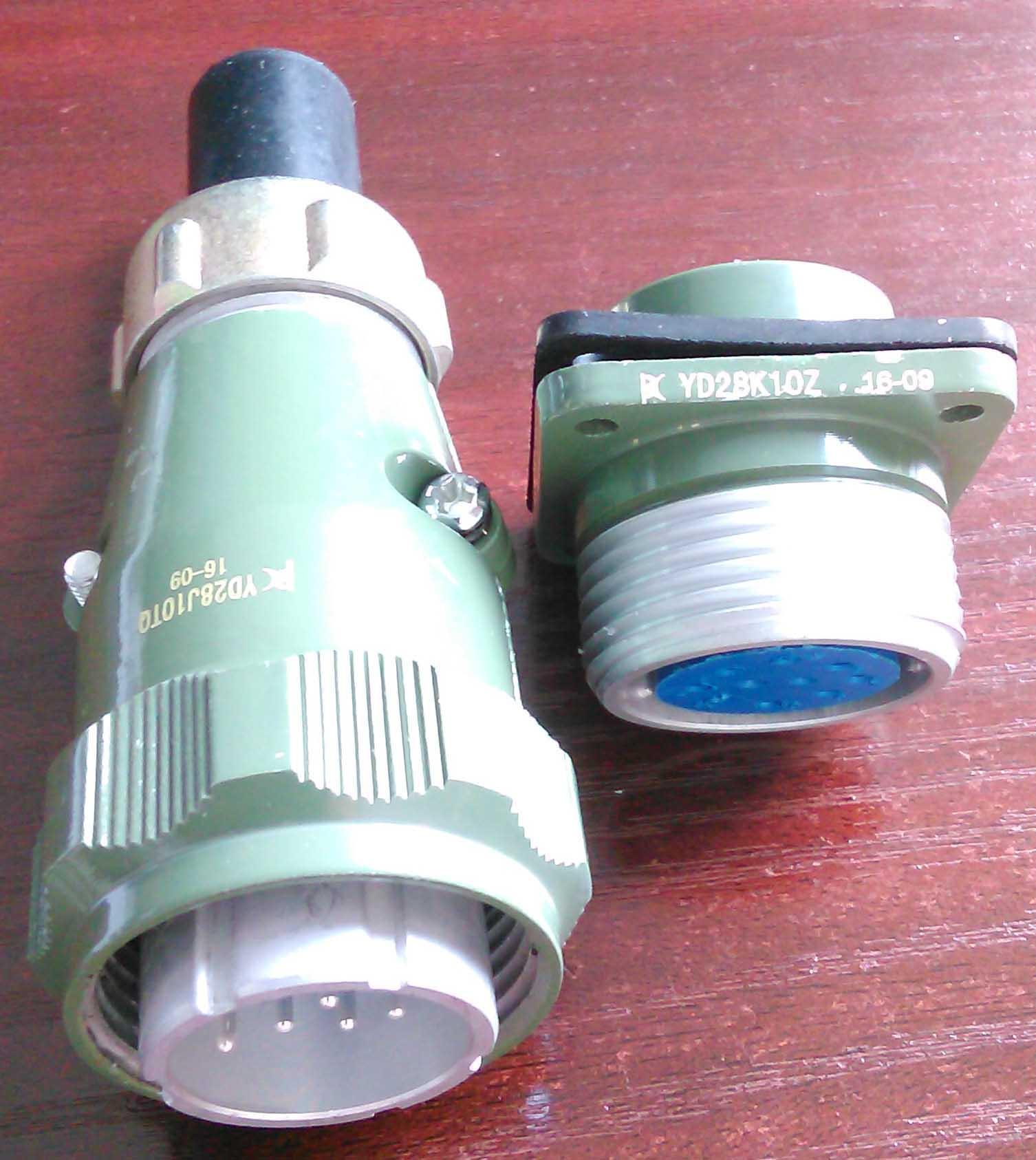 防雨型航空插头,YD系列圆形电连接器 6