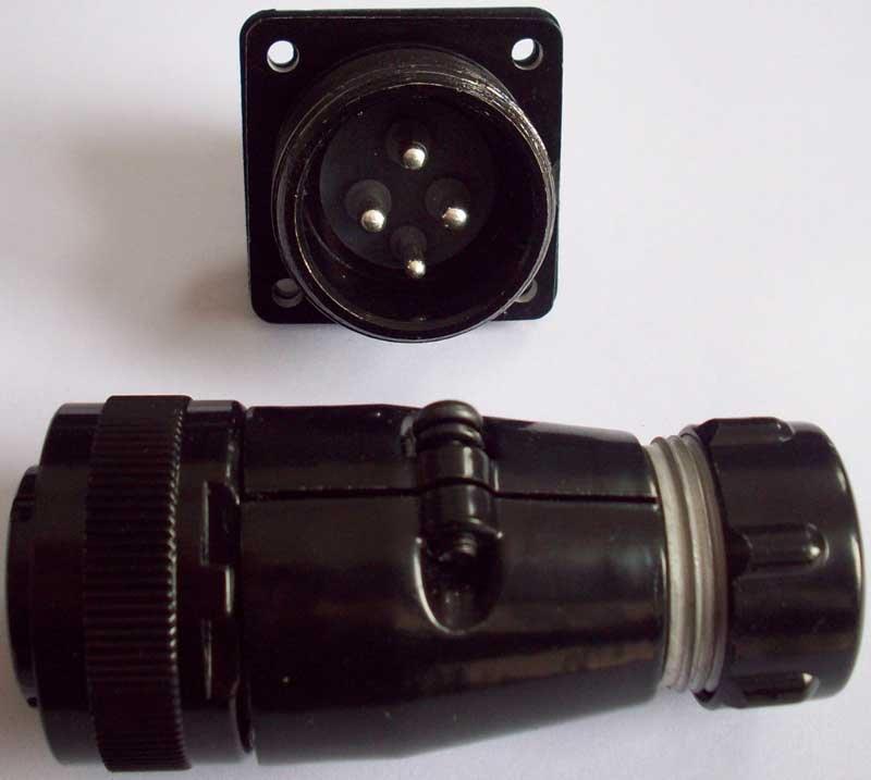 防雨型航空插头,YD系列圆形电连接器 8