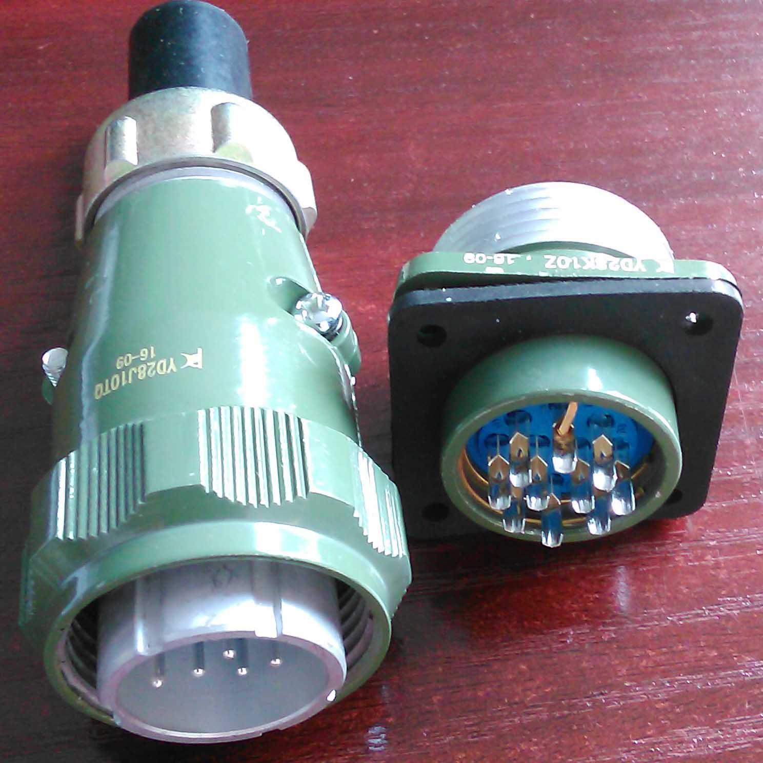 防雨型航空插头,YD系列圆形电连接器 10
