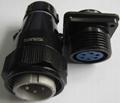 防雨型航空插头,YD系列圆形电连接器 11