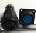 防雨型航空插头,YD系列圆形电连接器 12