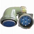 YD55系列圆形电连接器,防雨航空插头 3