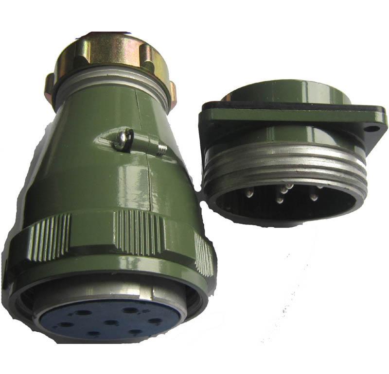 YD55系列圆形电连接器,防雨航空插头 5