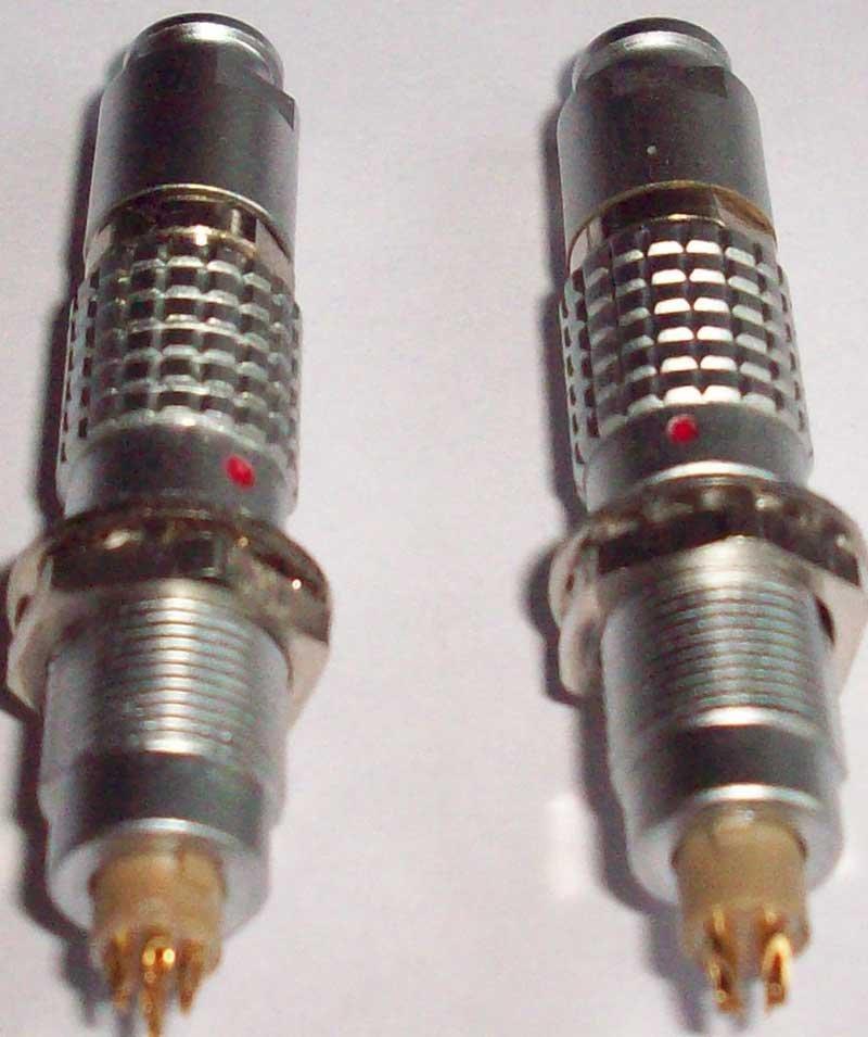 直拔式电连接器,推拉直锁航空插头 3