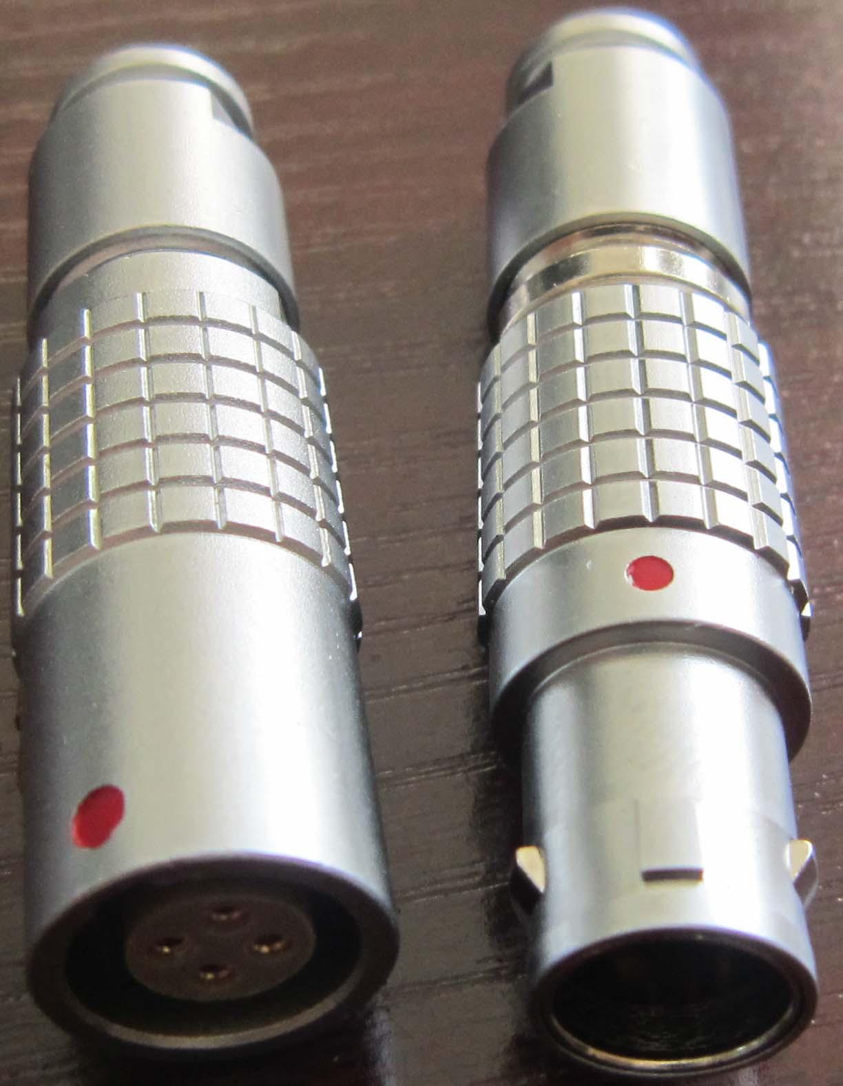 直拔式电连接器,推拉直锁航空插头 5