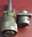 卡口插拔电连接器,航空插头 5