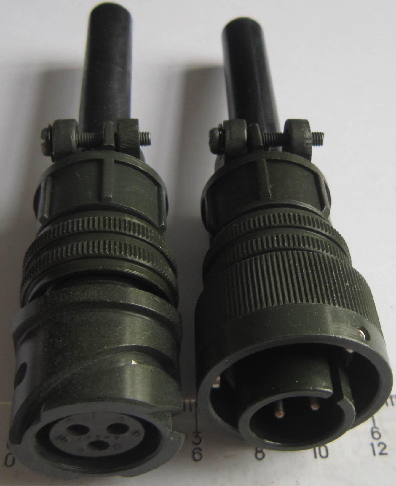 卡口插拔电连接器,航空插头 6