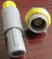 plastic push pull connector