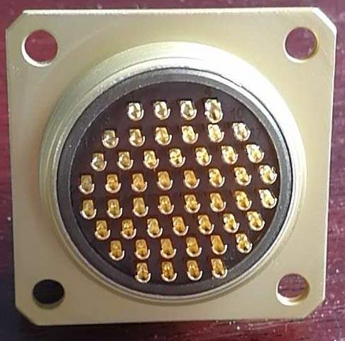 PC-50小圆形符合俄罗斯标准航空插头 6