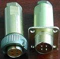 PC-4小圆形符合俄罗斯标准航空插头 4