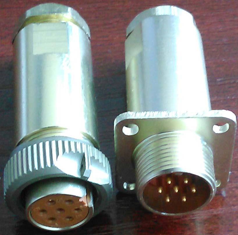 PC-7小圆形符合俄罗斯标准航空插头 5