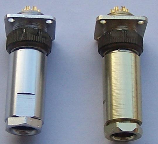 PC-7小圆形符合俄罗斯标准航空插头 6