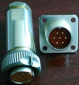 PC-7小圆形符合俄罗斯标准航空插头 1