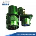Thru bulkhead receptacle connectors meet MIL-26482