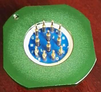 仿美军标系列圆形电连接器,航空插头座 3