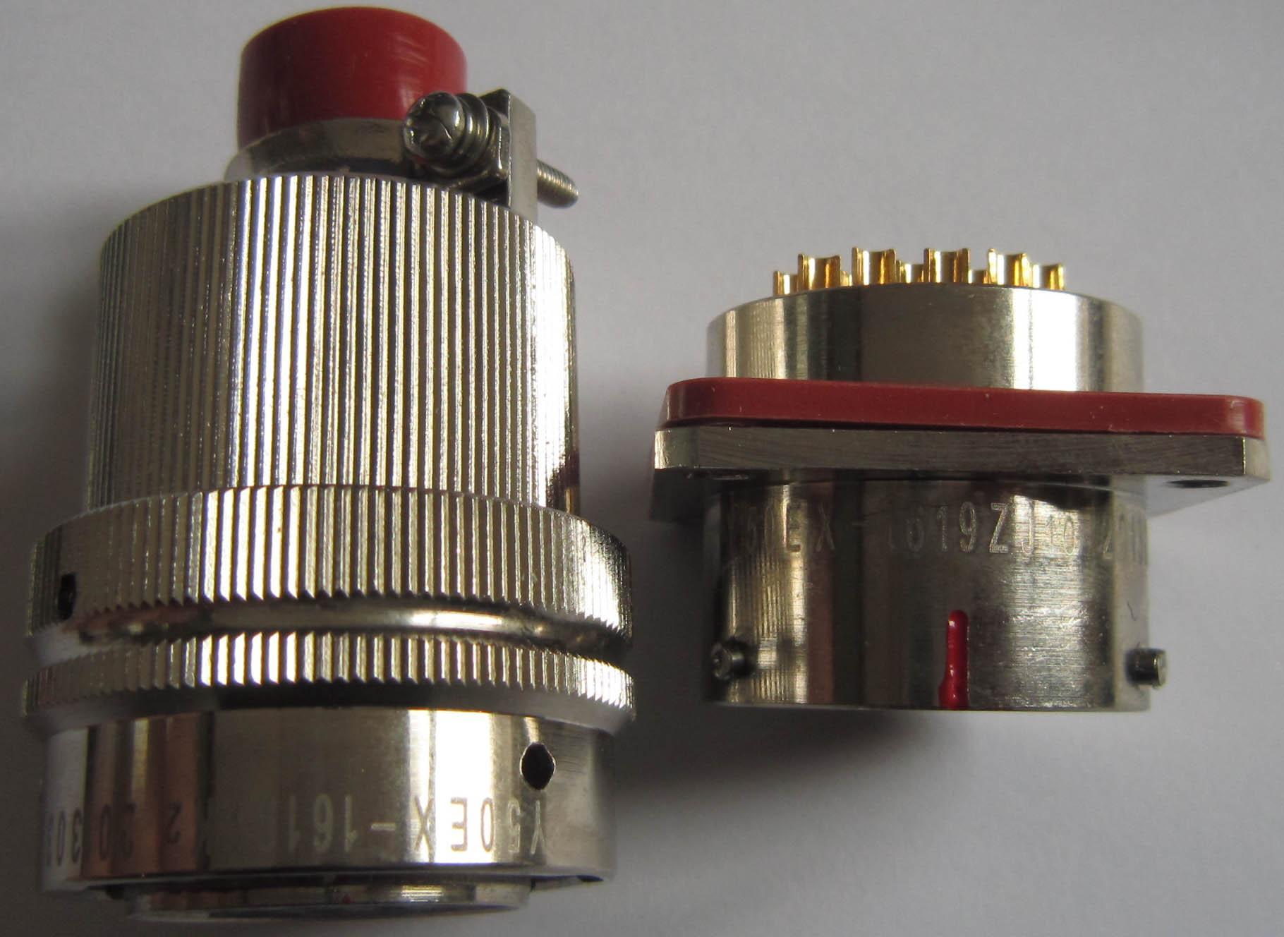 仿美军标系列圆形电连接器,航空插头座 4