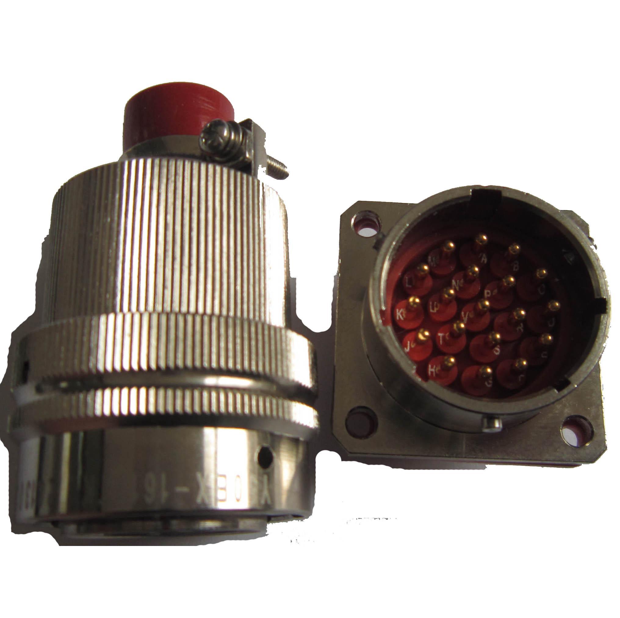 Y50EX-1626 Circular connectors as MIL-C-26482 series 5