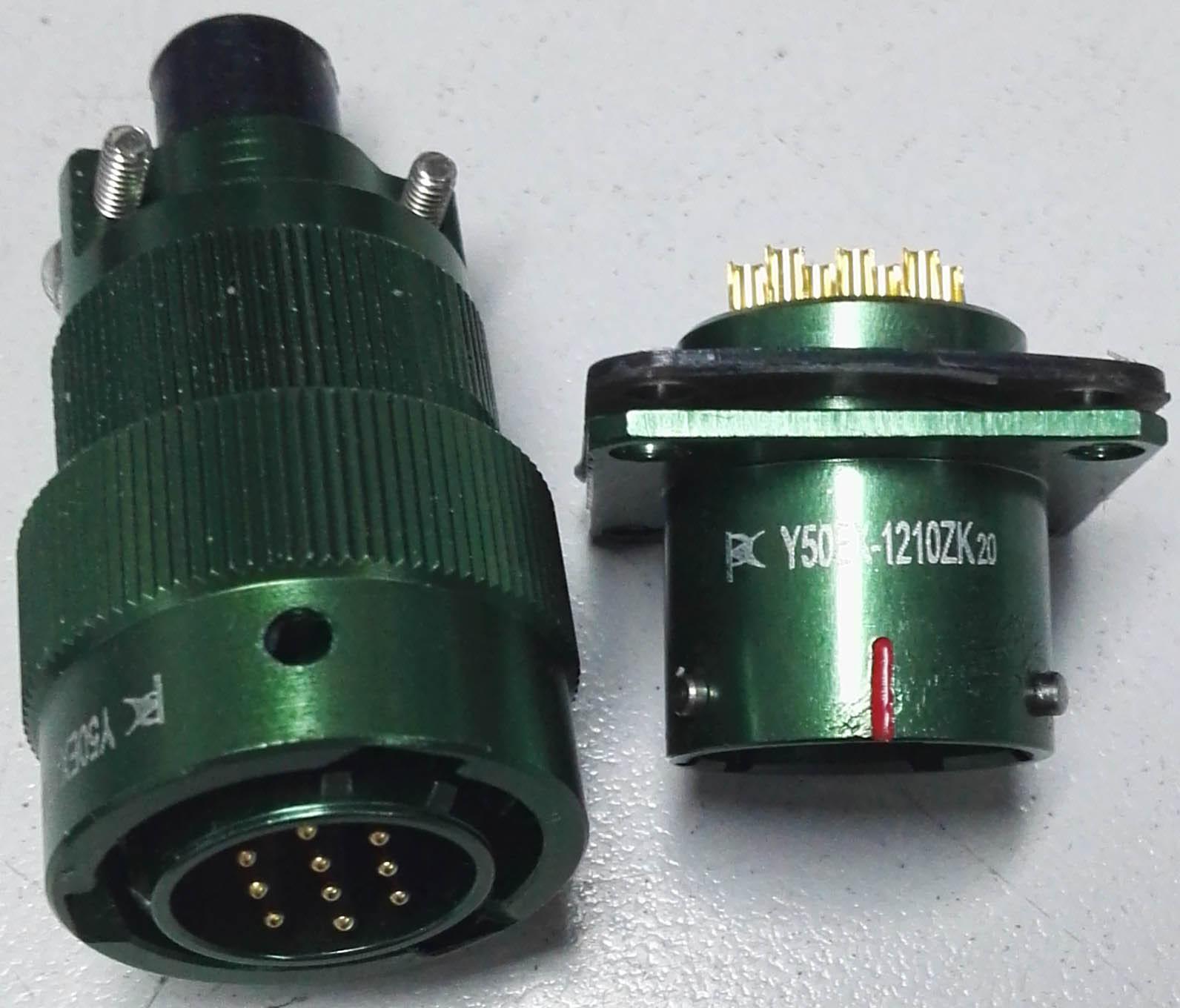Circular connectors as MIL-C-26482 series