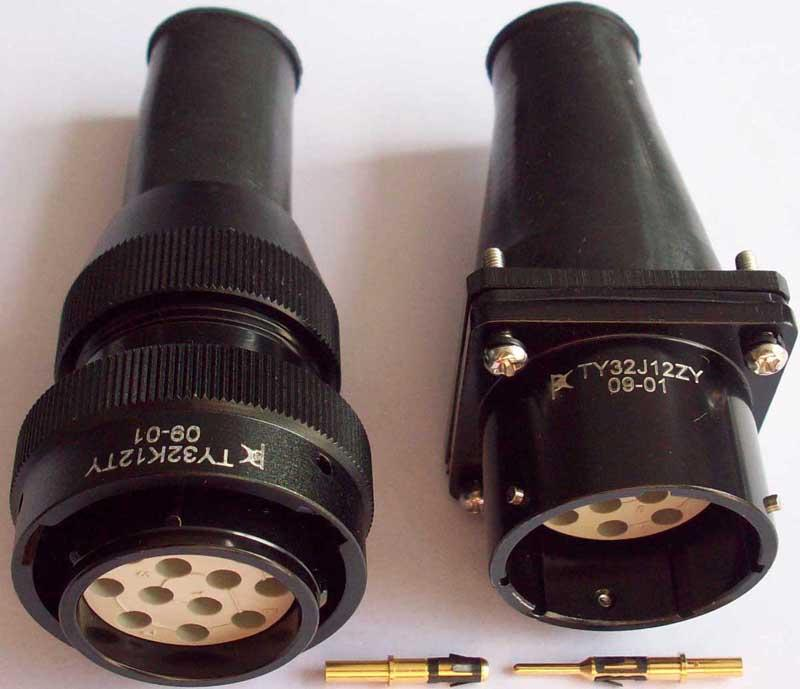 压接式插针插孔 2