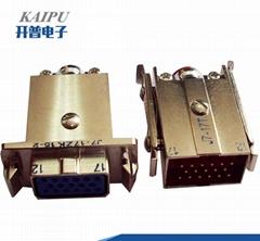 J7T系列军品矩形接插件
