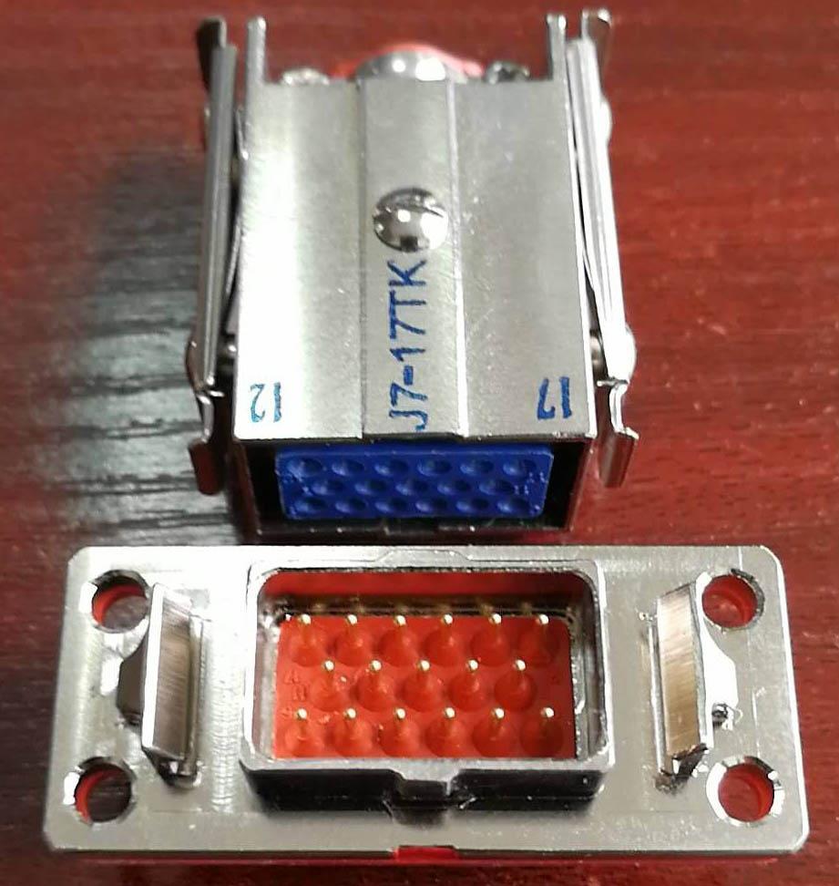 J7T系列军品矩形接插件 5