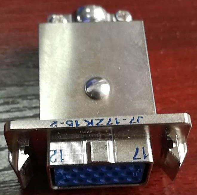 J7T系列军品矩形接插件 9