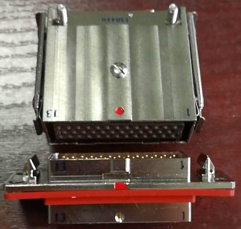 JB6矩形线簧孔电连接器 2
