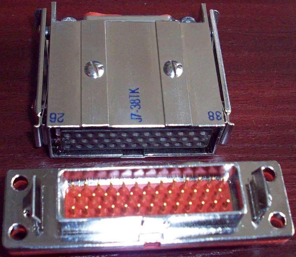 J7 series metal rectangular connector 3