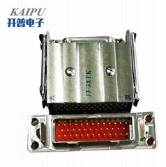 JB6矩形线簧孔电连接器