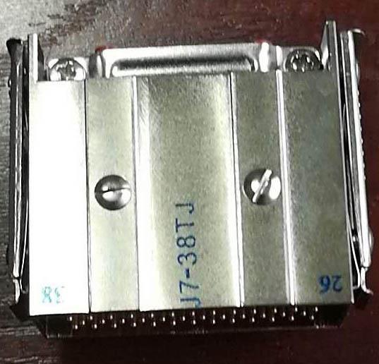 JB6矩形线簧孔电连接器 5