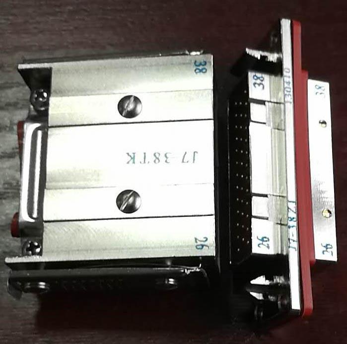 JB6矩形线簧孔电连接器 7