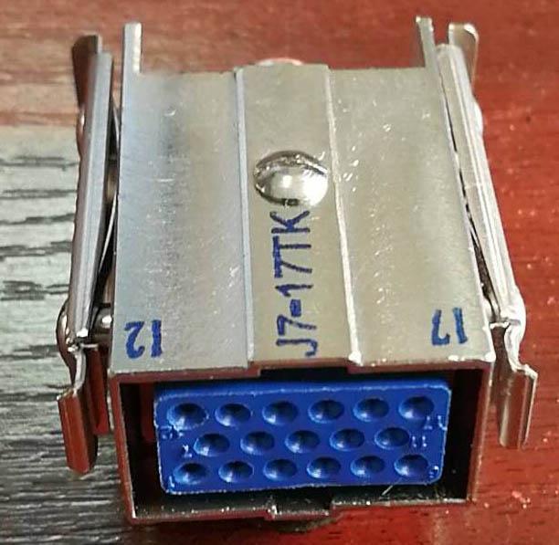 C 型系列欧式矩形接插件 2