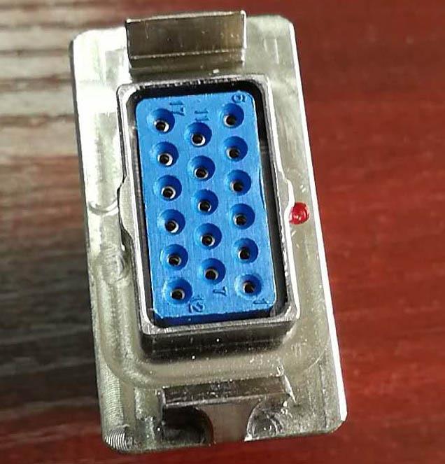 C 型系列欧式矩形接插件 5