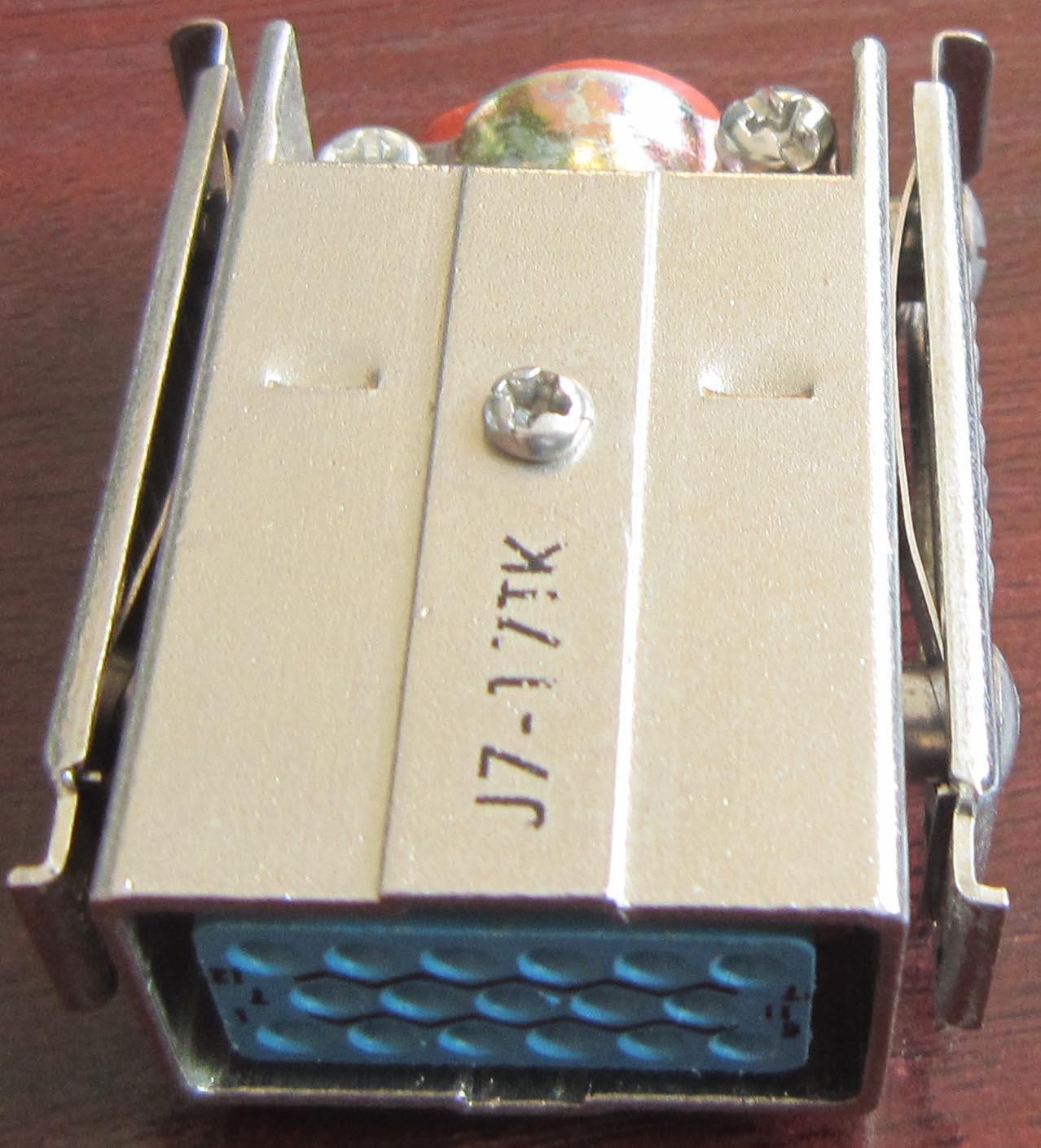 J7 series for military applicationrectangular connectors 7