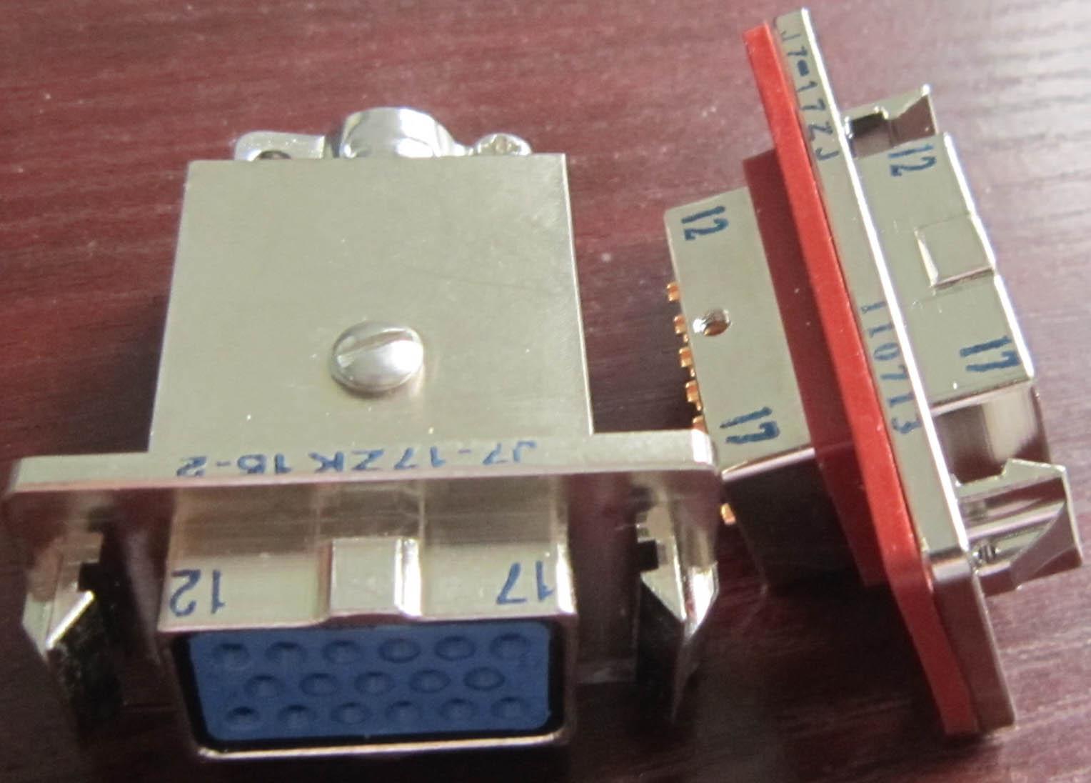 J7 series for military applicationrectangular connectors 8