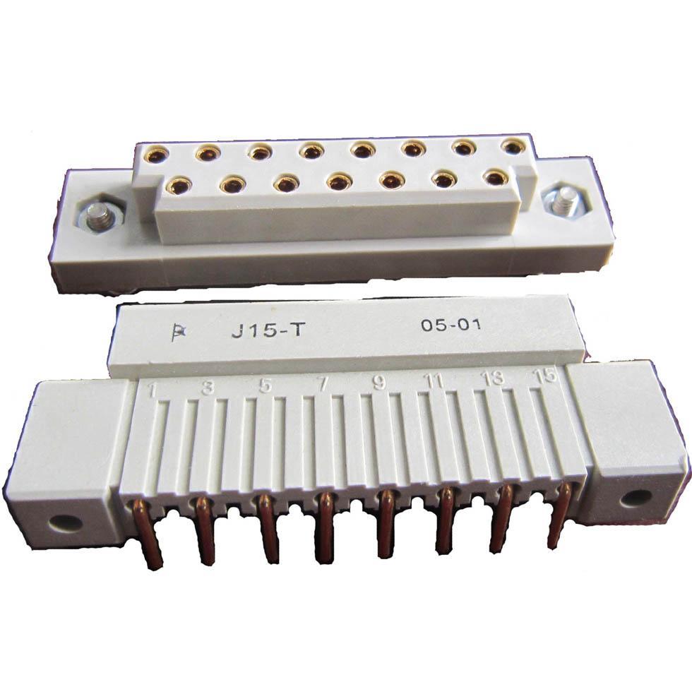 J15型矩形栅栏式孔电连接器 1