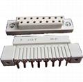 J15型矩形柵欄式孔電連接器