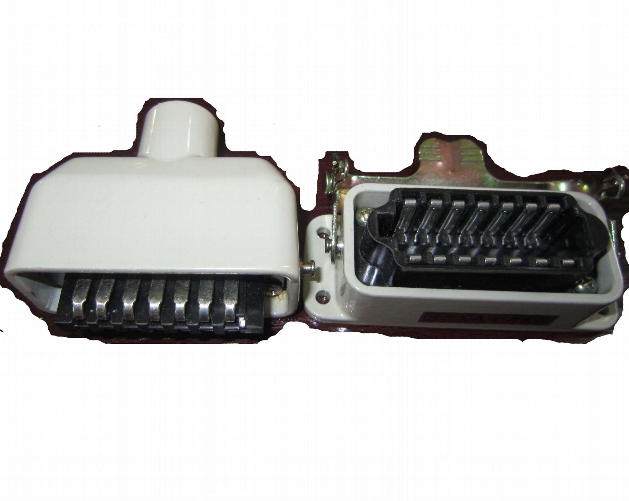 矩形电连接器CA系列 2