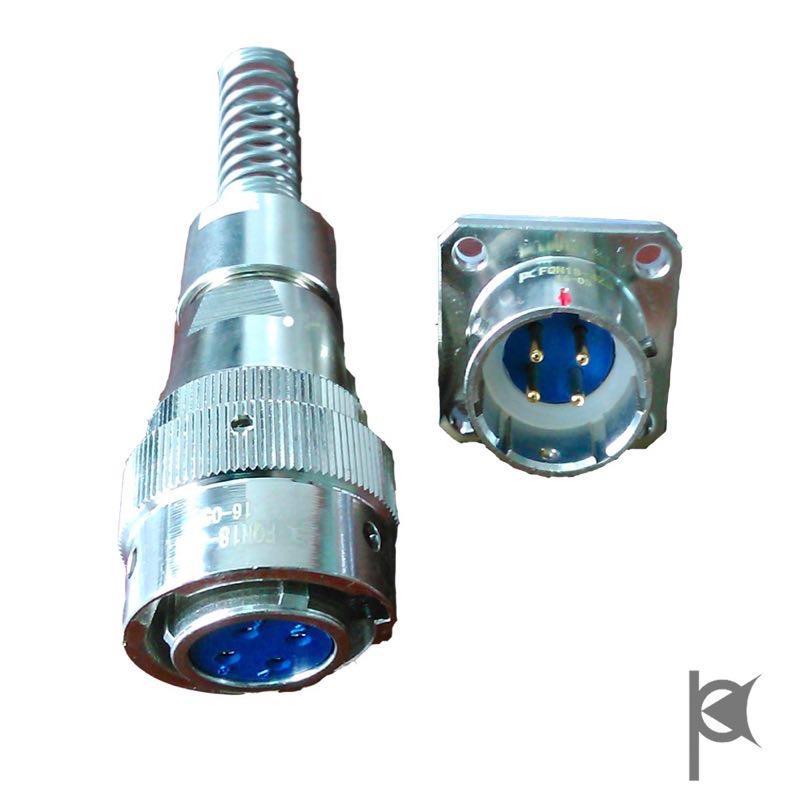 water proof  circular connectors FQN18 series