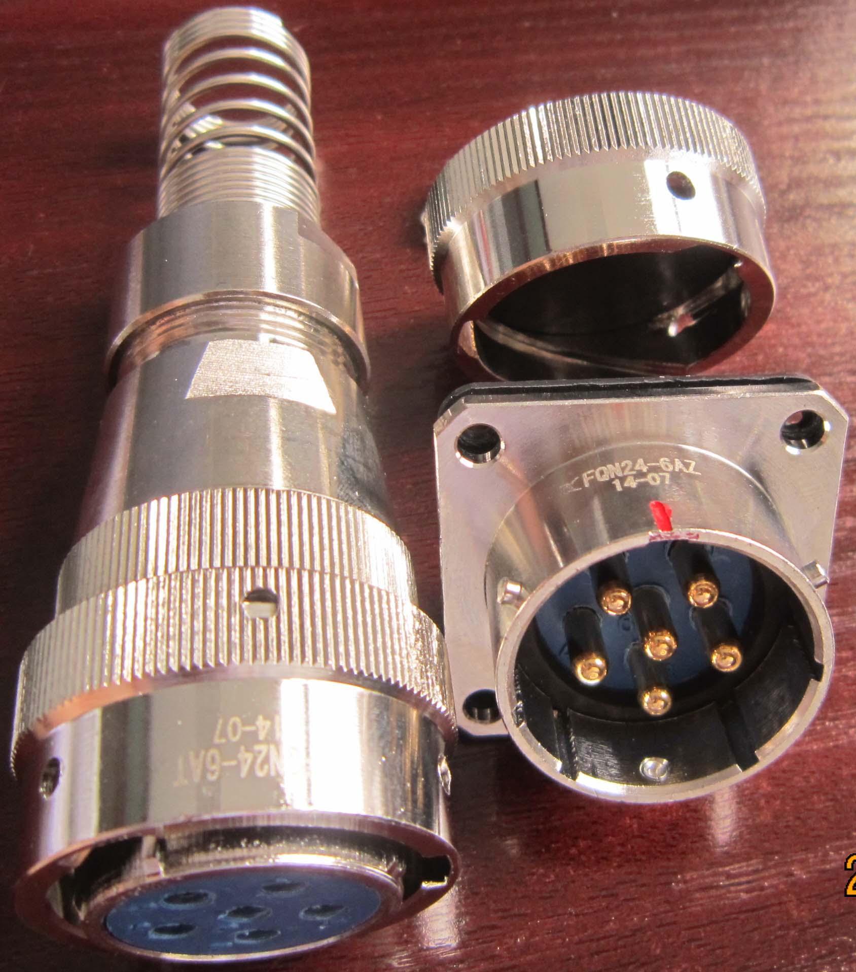 FQN24防水型系列圆形电连接器 4