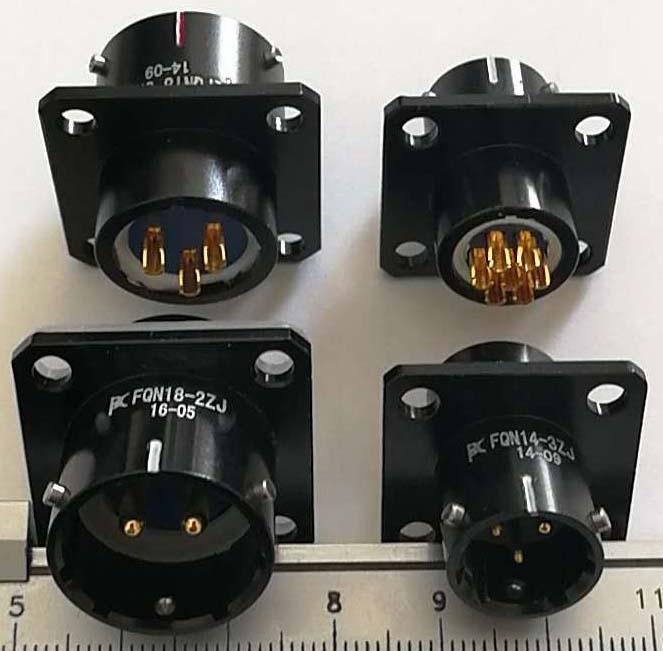 FQN24防水型系列圆形电连接器 6