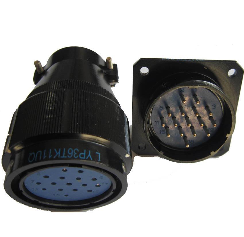 LYP36系列防水圆形电连接器,航空插头座 4